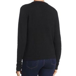 Elie Tahari Sweaters - Elie Tahari  Women's Black Shanaya fur Sweater new